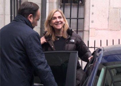 Manos Limpias reclama a la Infanta dos millones de euros por contribuir a defraudar a Hacienda