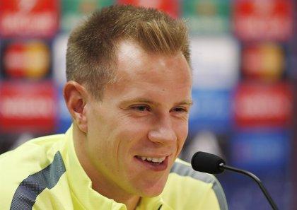 """Ter Stegen: """"Es imposible hacer olvidar a Valdés"""""""