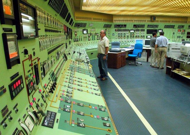 Interior de una central nuclear