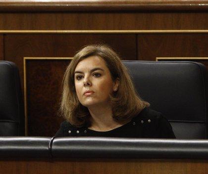 Santamaría defiende las medidas de lucha contra el paro juvenil, que está cayendo a un ritmo del 7,8%