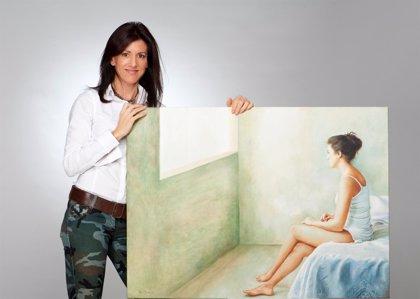 La obra de la pintora Perla Fuertes, seleccionada para exponer en el Louvre
