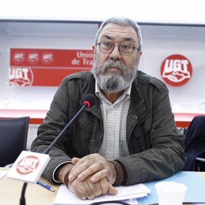 Economía.- Méndez (UGT) defiende permanecer en los consejos de administración a pesar de los errores en Caja Madrid
