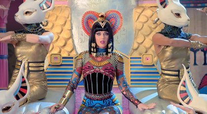 Dark Horse de Katy Perry, el videoclip más visto de 2014 en YouTube