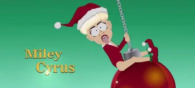 Miley Cyrus en South Park