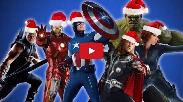 Los Vengadores en Navidad