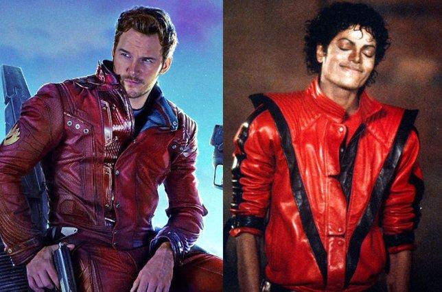 Star-Lord y Michael Jackson