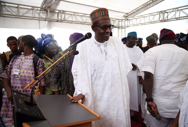 Muhamadu Buhari, el candidato del All Progressives Congress para las elecciones.