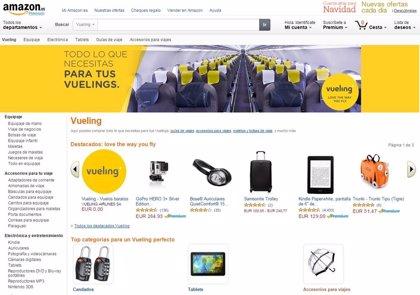 Amazon.es crea una tienda especial para los viajeros de Vueling