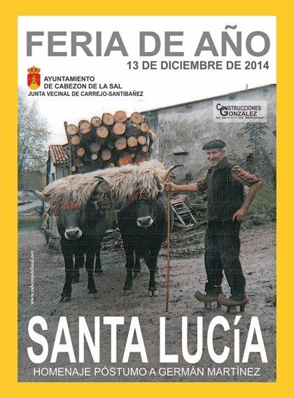CANTABRIA.-Cabezón de la Sal.- Cerca de 1.000 reses de 44 ganaderías se reunirán el sábado en la popular feria de Santa Lucía
