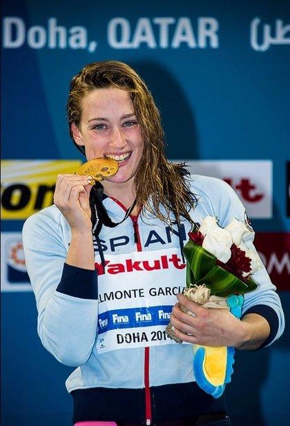(Previa) Mireia Belmonte, gran atracción del Campeonato de España de piscina corta
