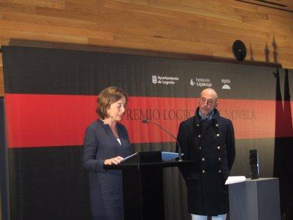 Montero Glez, ganador del VIII Premio Logroño de Novela