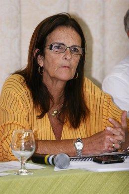 La presidenta de Petrobras, Graça Foster,