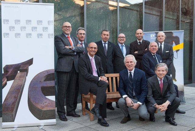 Comienza la actividad del Global Corporation Center de EY e IE Business School