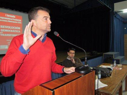 """Maíllo asegura que IU irá """"a por todas"""" en las municipales, para """"ser la primera fuerza política"""" en la ciudad"""