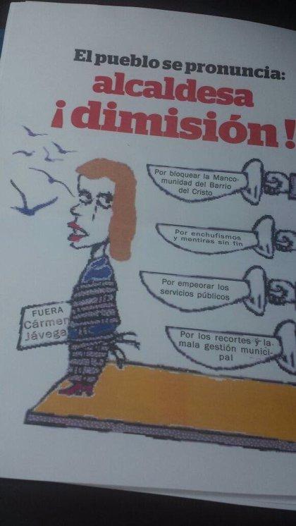 La alcaldesa de Aldaia (Valencia) denuncia carteles que incitan a la violencia contra ella