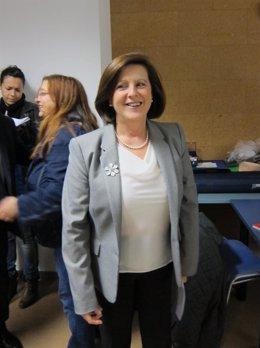 La consejera de Igualdad, Salud y Políticas Sociales, María José Sánchez Rubio