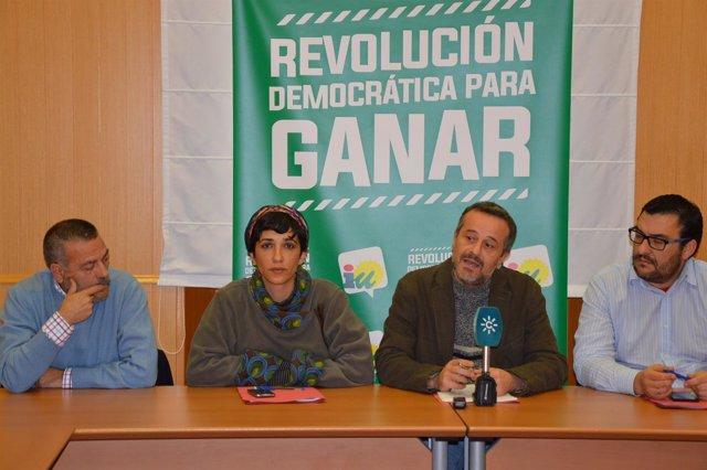 Segundas jornadas programáticas IU Málaga Peláez Morillas Castro y Ahumada