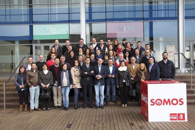 Reunión PSOE Heredia y Conejo con candidatos menores 20.000 habitantes