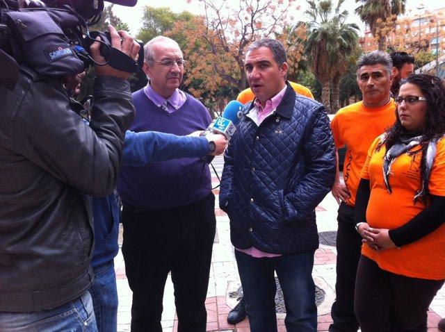 Elías Bendodo visita Casa Misericordia de ayuda a los demás en Málaga PP