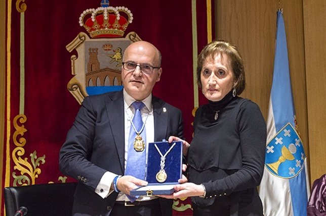 Entrega de la Medalla de Oro de Ourense al fallecido Marcos Valcárcel