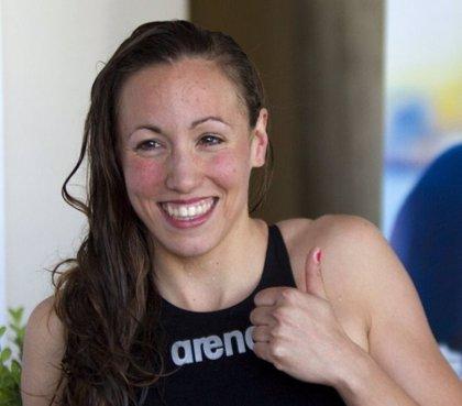 Jessica Vall iguala el récord de España de 200 metros braza
