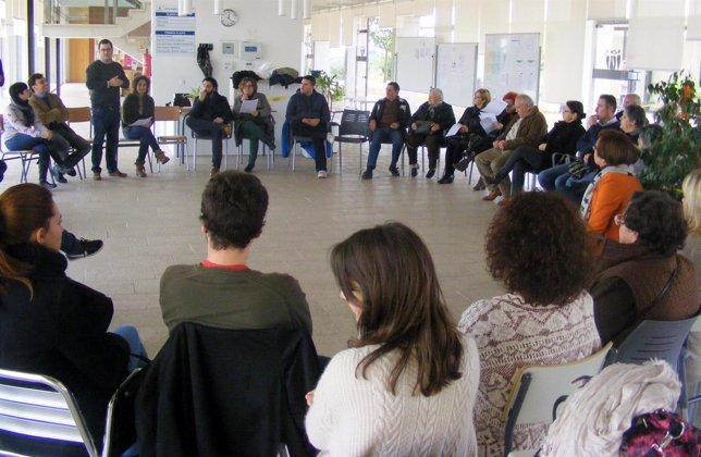 Asamblea abierta del PSIB en Marratxí