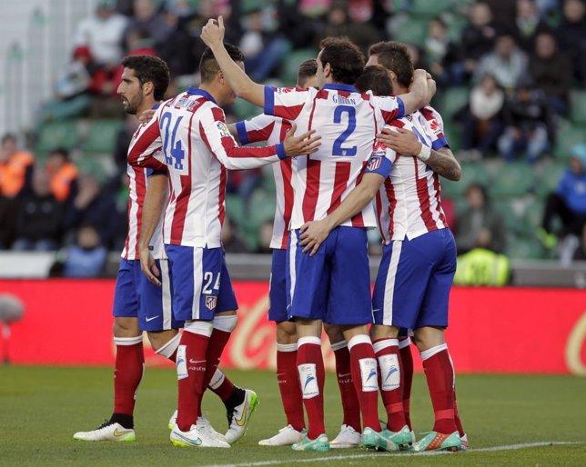 Atlético Madrid Elche Godín Raúl García