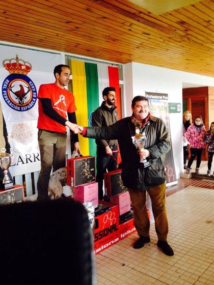Jordi Morato, ganador del XXIV Campeonato de España de Caza de Becadas