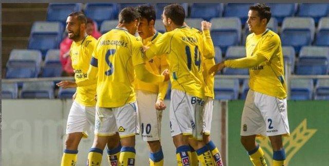 La Unión Deportiva Las Palmas gana en Huelva