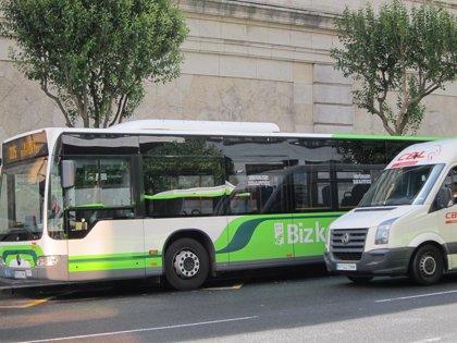 """Las concesionarias de Bizkaibus ponen en marcha """"con normalidad"""" las 89 líneas de autobús"""