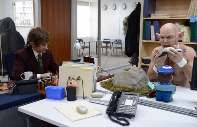 El Hobbit en The Office