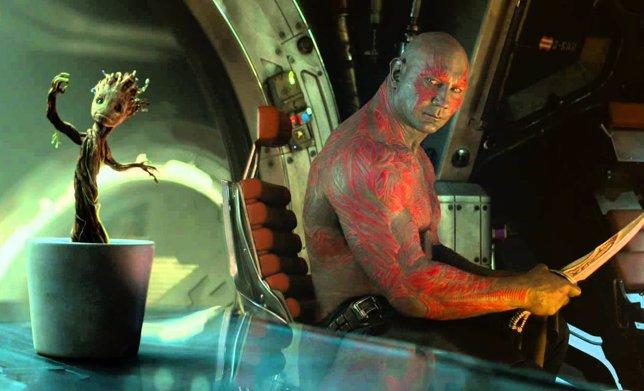 Drax y Baby Groot