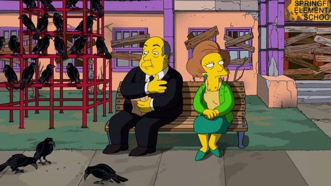 Hitchcock en Los Simpson