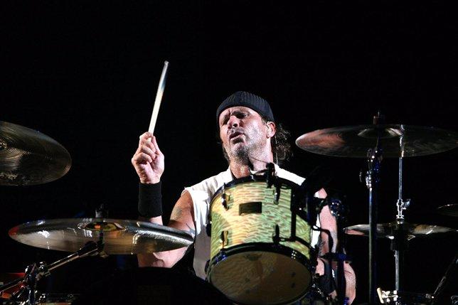 El batería de los Red Hot Chili Peppers, Chad Smith