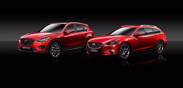 Mazda 6 y Mazda CX 5