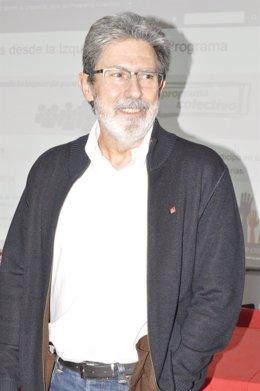 El coordinador general de IU-Aragón, Adolfo Barrena.