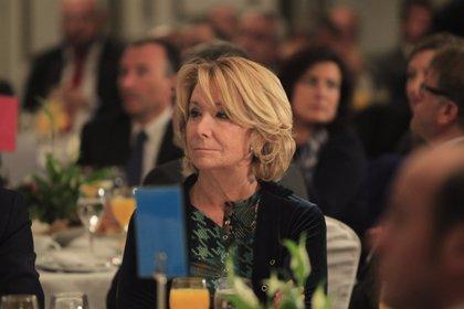 """Aguirre dice que en el PP """"todo sigue como estaba"""" antes de la cena de ayer en Alcobendas"""