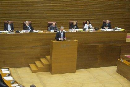 """López (PSPV) afirma que Costa """"salta a la comba con la línea roja de Fabra"""" al intervenir en el debate de presupuestos"""
