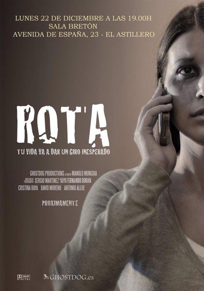 Astillero.- La sala Bretón acogerá el próximo lunes el estreno del corto 'ROTA' de Munguía
