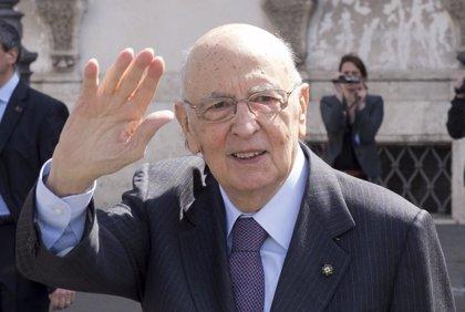 Napolitano da a entender que se retira en 2015