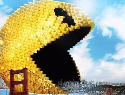 Pixels: Pac-man, Space Invaders, Donkey Kong y Centipede en 4 nuevos posters