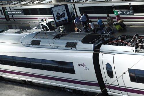 Estación de Atocha de Madrid, trenes, RENFE