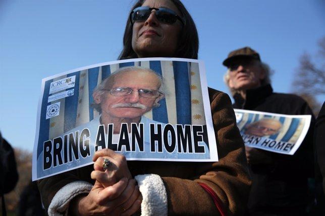 Piden a Cuba la vuelta de Alan Gross a EEUU