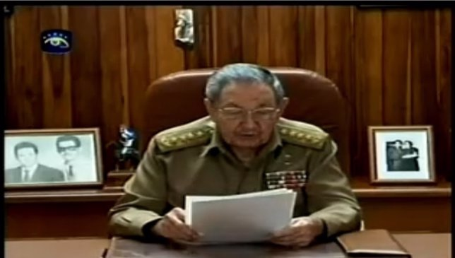 Raúl Castro anuncia establecimiento de relaciones con EEUU
