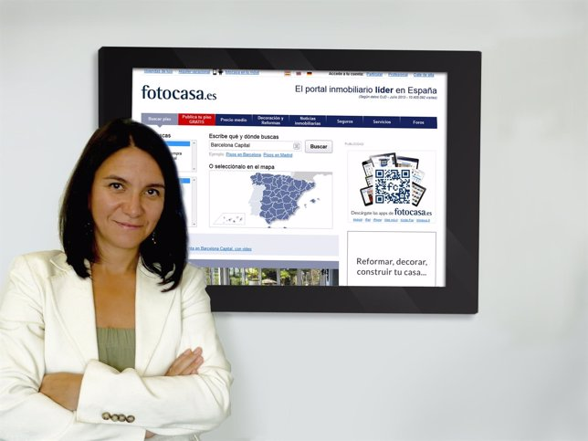 Responsable de Estudios de Fotocasa, Beatriz Toribio
