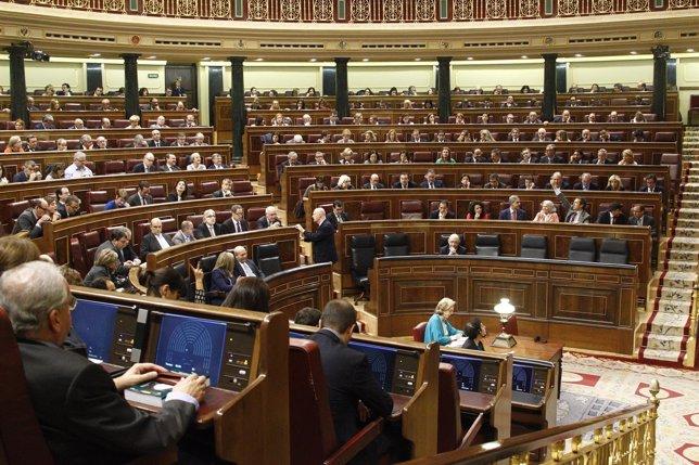 Pleno del Congreso de los Diputados, Hemiciclo