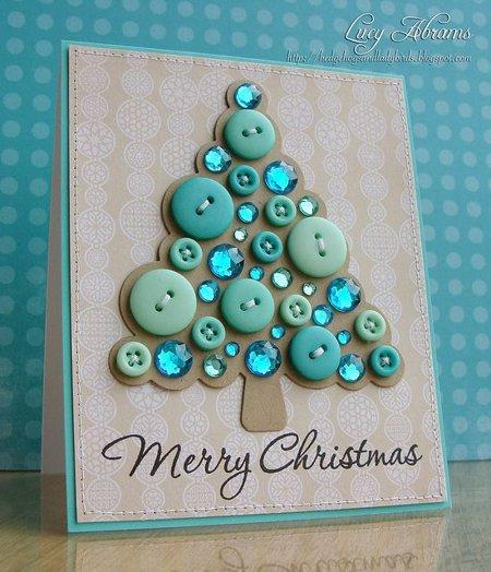 Hacer Postales Navidenas Fotos.15 Ideas Para Hacer Postales De Navidad Originales A Mano