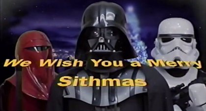 VÍDEO: Merry Sithmas, los villancicos de Star Wars