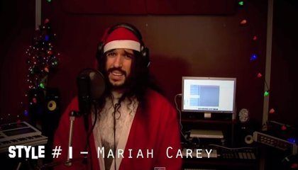 Vídeo: All I want for Christmas is you de Mariah Carey en 4 minutos y 20 estilos musicales diferentes