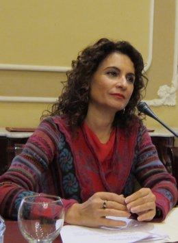 María Jesús Montero, consejera de Hacienda y Administración Pública